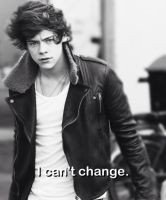 I cant change by DirectionForLyfe