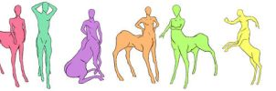 Pose References For Centaurs (full view is best)