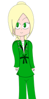 The Green Ninja...ette? by RicochetRay