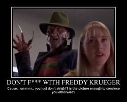 Don't F with Freddy Krueger by Volts48