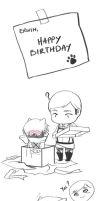 SnK :: Happy Birthday Erwin by yaocchi