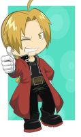 Art Trade:  Edward Elric by chicajamonXD