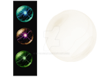 PNG Clear Globe / Orb (On right of image) by 12PeaceArt