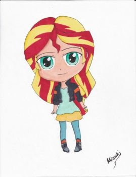 Sunset Shimmer-First Time Copic Marker Fanart by mizuki12341
