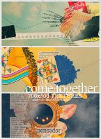 Textures - Come Together by ninevolt-heart