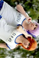 Dead or Alive l Ayane + Kasumi by gucki
