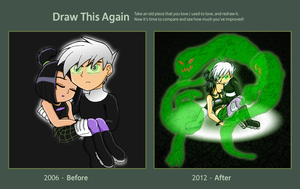 Draw This Again Challenge - Danny Phantom by TanjatheBat