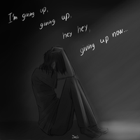 I'm giving up... by JinGi