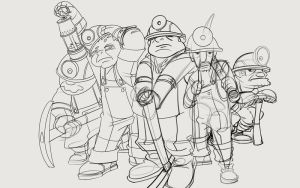 miners by le-mec