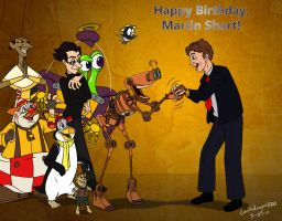 Happy Birthday Marty by EarthGwee
