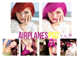 Airplanes PSD' by Gagaphone
