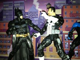 Punisher visits Gotham 5 by toyaction