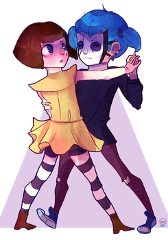 Franbow And Sallyface by Spice-Twinkle-Pop