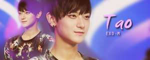 Exo-M Tao banner by KpopGurl