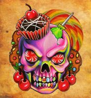 Sweet Skull Brah by anatane