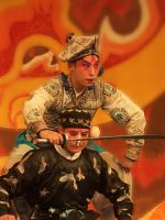 Peking Opera Actors--Male by the-sashimi-frog