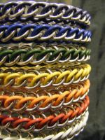 hp3-1 bracelet rainbow collection by BacktoEarthCreations