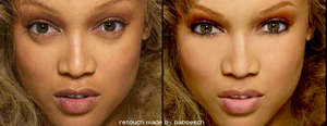 retouch tyra banks by baboesch
