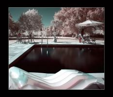 The swimming pool II by Anrold