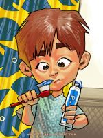 beto and the blue toothpaste by cucomaluco