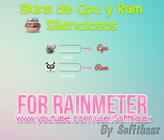 CPU Y RAM Silenciosos FOR RAINMETER by SofithaaxTutoriales