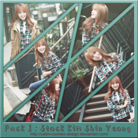 Pack#1 : Stock Kim Shin Yeong - Collect by CaTim by Catim-Cucheo-Design