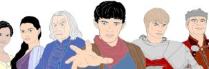 Merlin -cast by HappInesFactory
