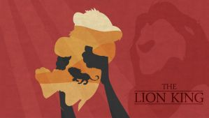 The Lion King minimalist by YukiOria