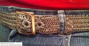6-in-1 Aluminum Belt with Buckle (Worn 2) by ulfchild