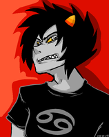 KARKAT IS NOT FUCKING PLEASED by CupCakeKyo