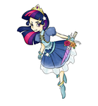 Magical girl Twilight Sparkle by theluckyangel