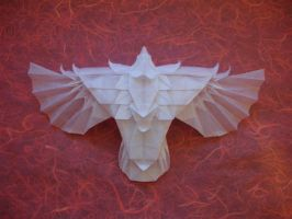 Roc-Diaz top view by origami-artist-galen