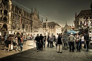 Eye on Munich XV by Michela-Riva
