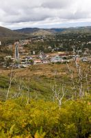 view from LA Mountain by krnc