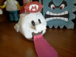 Boo Mario- Super Mario Galaxy 2 by ANTONIOMASTERPERES