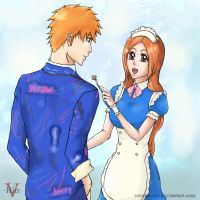 IchiHime Week_Day 5_Official Artwork by Verano-Rin