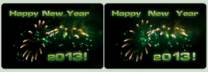 Happy New Year 2013! by zour