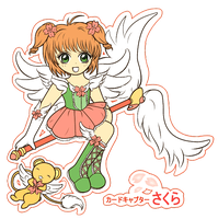 Cardcaptor Sakura by PockyCrumbs
