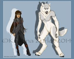 Werewolf Reference for lupus-daemon by NatsumeWolf
