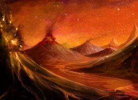 Magma Volcanoes by ArdiRa