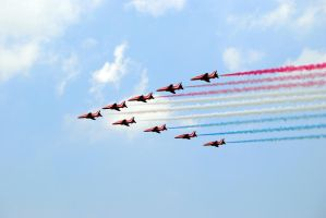 Red Arrows by ShelbyBEE
