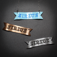 Name Ribbon Pendant by SuperSiriusXIII
