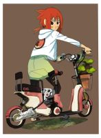 Electric bike by BusterJim