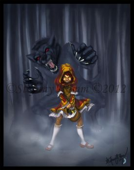 Little Red Riding Hood by BananaWork