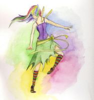Finished Fairy Dancing by littlehippy