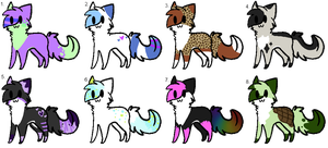 Adopts 4 - CLOSED by Wildstaar-Adopts