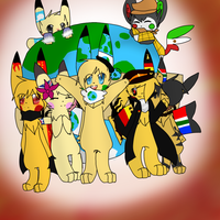 :CE:- Continet Contest: Welcome to World-Chus! by Riki-Chyle