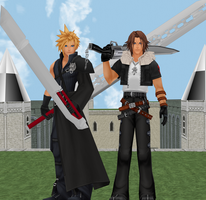 Cloud and Squall by IntenseObservation