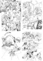 Red Sonja Pages by Adrianohq