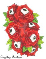 'Eye Love Roses' by CrYpToZ